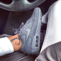 All gray air max 90