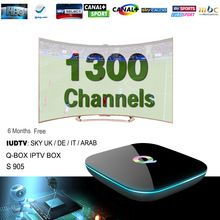 Sky Iptv Box Android 6.0 Eueopean IPTV Box 1300+ IPTV Live Channels Arabic Sky Turkish Germany Wifi Tv Receiver Russian Iptv Box     Tag a friend who would love this!     FREE Shipping Worldwide     #ElectronicsStore     Get it here ---> http://www.alielectronicsstore.com/products/sky-iptv-box-android-6-0-eueopean-iptv-box-1300-iptv-live-channels-arabic-sky-turkish-germany-wifi-tv-receiver-russian-iptv-box/