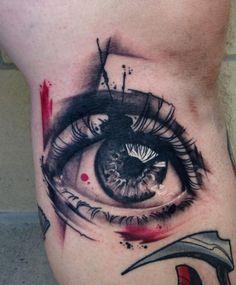 follow the colours tattoo friday mike shultz 04 Look at Me! Mike Schultz e uma série de olhos realistas tatuados