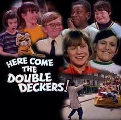 Worlds first web site devoted to the preservation and perpetuation of the kids TV show -'Here Come The Double Deckers' a TV series of seven kids who make a clubhouse out of an old double decker bus in a scrapyard 1970s Childhood, My Childhood Memories, Great Memories, Childhood Images, Tv Vintage, Kids Tv Shows, 80 Tv Shows, Film D'animation, Deck