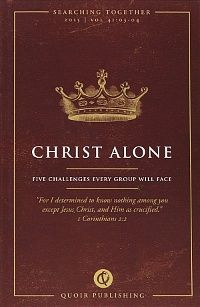 Christ alone….searching together