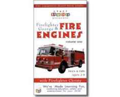 Kids Fire Safety Books - Firefighter George & Fire Engines, Fire Trucks, and Fire Safety, Volume One Fire Safety For Kids, Fire Safety Tips, Wiggles Birthday, Thematic Units, Fire Engine, Firefighters, Emergency Preparedness, Young Children, Fire Trucks