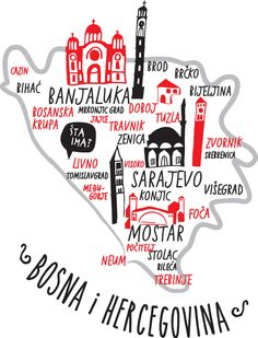 Best country in the world Cool Countries, Countries Of The World, Funny Maps, Get Funky, Tourism Poster, Central Europe, Bosnia And Herzegovina, Macedonia, Where The Heart Is