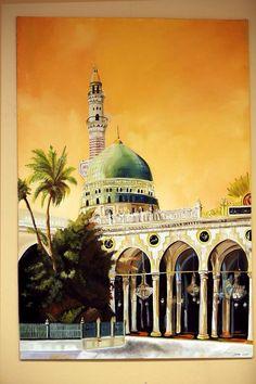 Masjid an-Nabawi #islamicart#vavart