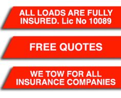 Fully insured, licenced NSW TTIA tow operator (Lic. # 10089), free quotes and towing for all insurance companies - for all your heavy towing needs, give Outback Recovery Service a call on 68816134 or David on 0428483713 and Patty on 0427483713