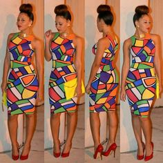 Pictures of our most lovely ankara styles of all time for every beautiful lady out here. Some try these lovely ankara styles African Inspired Fashion, African Print Fashion, Fashion Prints, Style Fashion, African Attire, African Wear, African Women, African Style, African Shop