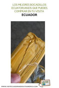 Los mejores bocadillos ecuatorianos que puedes comprar en tu visita Ceviche, Everyday Food, Ecuadorian Recipes, How To Memorize Things, Homemade, Snacks, Eat, South America, Tips