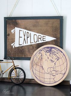 You Can Use Heat Transfer Vinyl on Wood
