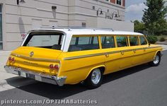 '62 Chevrolet airport shuttle station wagon