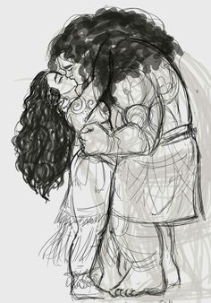 Hooked wayfinders Moana and Maui *and yea she is older in this *  #moana #maui