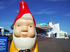 the boston garden gnome: the new england aquarium