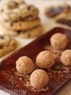 Truffle-Stuffed Chocolate Chip Cookies   SugarHero.com