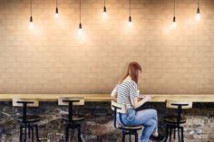 Art Restaurant, Orange, Wall Tiles, Terracotta, Public Spaces, Color, Products, Plastering, Wall Cladding