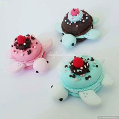 Очаровательные черепашки, миниатюры от ClaybieCharms / Микромир / Бэйбики. Куклы фото. Одежда для кукол