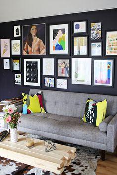 Home design, interior design kitchen, living area, home living room, living Dark Living Rooms, Living Room Decor Cozy, Home Living Room, Kitchen Living, Living Area, Home Design, Interior Design, Diy Spring, Salons Cosy