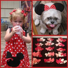 Minnie Mouse Bowtique Cake | The Printable Mickey and Minnie Mouse Party Package is for sale in my ...