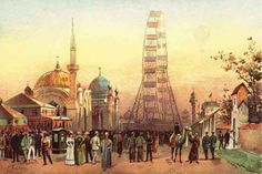 1893 Worlds Fair The Columbian Exposition The Plaisance