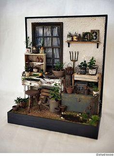 Miniature / Junk garden2 | Flickr - Photo Sharing!