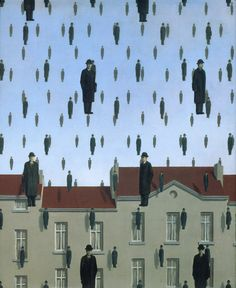 Rene Magritte (Probably not what The Weather Girls had in mind!)
