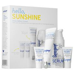 Supergoop! - Rise & Shine Beauty Set #sephora These aren't full-size products, but this set would be great for travel.