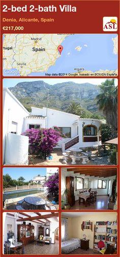 2-bed 2-bath Villa in Denia, Alicante, Spain ►€217,000 #PropertyForSaleInSpain