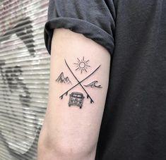 Mini Tattoos, Body Art Tattoos, New Tattoos, Sleeve Tattoos, White Tattoos, Arrow Tattoos, Word Tattoos, Tatoos, Small Tattoos For Guys