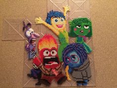 Inside Out Perler Beads