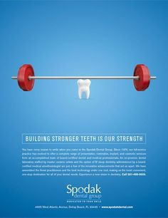 Building Stronger Teeth...