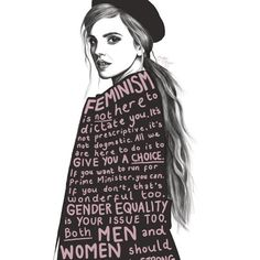 These Emma Watson quotes will help awaken your inner activist and show you how to be a feminist and fight for equality. Paar Tattoo, Feminist Quotes, Feminist Af, Feminist Icons, Women Rights, Intersectional Feminism, Patriarchy, Equal Rights, Girls Be Like