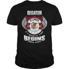 (New Tshirt Design) DECATUR-ILLINOIS Story2 263 Discount Codes Hoodies, Funny Tee Shirts