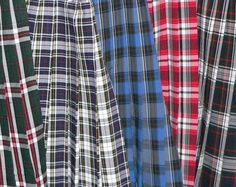 Your school uniform was basically all tartan.   23 Photos That Will Only Make Sense If You Grew Up Catholic