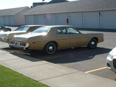 1978 Plymouth Fury with police pursuit package.
