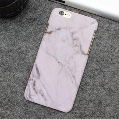 Hot Fashion Marble Frosting Hard Case for iPhone 6 - 7 plus