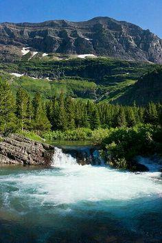 Swiftcurent creek,  Montana USA