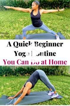 yoga routine for beginners fat burning
