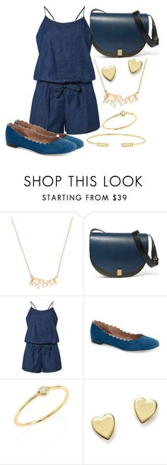 """""""Untitled #935"""" by amazing-crazy-love ❤ liked on Polyvore featuring Kate Spade, Victoria Beckham, Dorothy Perkins, Chloé, Sydney Evan, Bloomingdale's and Jemma Wynne"""