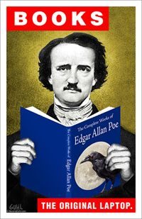 Poe > I always loved reading and learning about Edgar Allan Poe in high school 1960-1962!