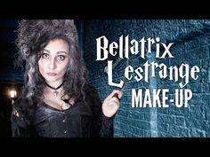 BELLATRIX LESTRANGE MAKEUP TUTORIAL - YouTube