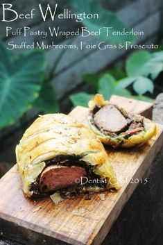 recipe perfect beef wellington or boeuf en croute puff pastry wrapped beef tenderloin with morel black chanterelle porcini shiitake mushroom duxelle - Duxelle Coloration