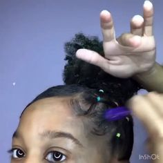 Top Bun Tutorial - All For Hairstyles Cute Bun Hairstyles, Braided Hairstyles For School, Cute Hairstyles For Kids, Hairstyles Videos, Black Hairstyles Medium Length, Black Hairstyles With Weave, Black Women Hairstyles, Braids For Kids, Girls Braids