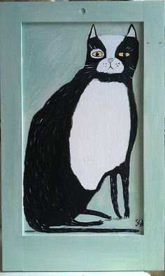 cat by oswald flump, via Flickr