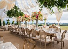 Santa Barbara Wedding with La Fete Weddings Field Wedding, Tent Wedding, Wedding Reception Decorations, Wedding Events, Wedding Band, Wedding Dress, Wedding Tables, Wedding Receptions, Reception Ideas