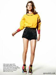 Ali Michael for Elle Australia (January 2014) - http://qpmodels.com/american-models/ali-michael/5289-ali-michael-for-elle-australia-january-2014.html