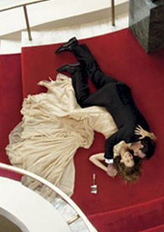 Carrie and Big in VOGUE