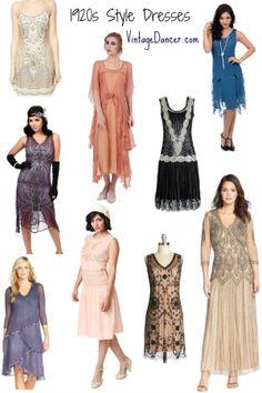 New 1920s style dress for sale online at VintageDancer,com