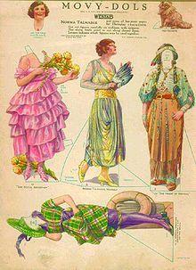 Papirdukke - Wikipedia