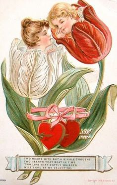 We begin this Valentine's Day post with a fantasy image of a Pretty Lady inside a rose. We have quite a collection of fantasies, and pre. My Funny Valentine, Valentines Day Post, Valentine Cupid, Valentines Greetings, Valentines Art, Valentines For Boys, Victorian Valentines, Vintage Valentine Cards, Vintage Greeting Cards