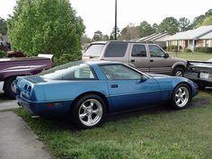 Afbeeldingsresultaat voor corvette c4 black wheels