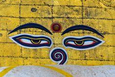 Asia, Eyes, Painting, Travel, Paintings, Viajes, Traveling, Draw, Human Eye