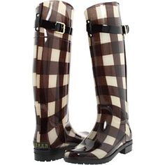 I can not spend one more winter here without rain/snow boots. For $75, these Ralph Lauren galoshes are adorable.